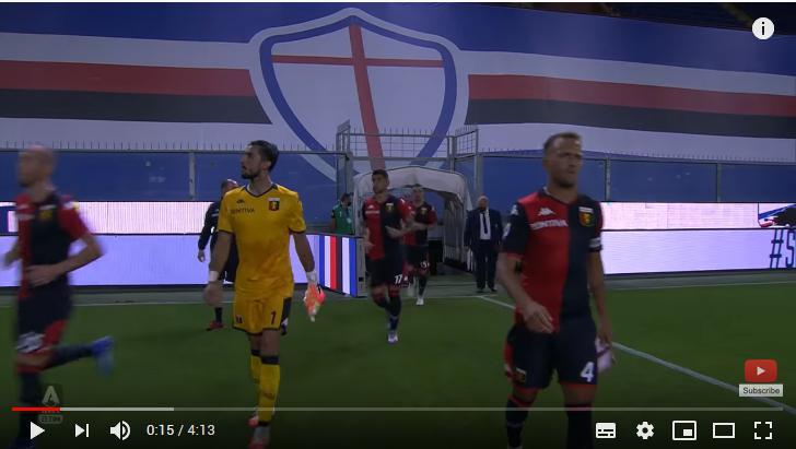 คลิปไฮไลท์ฟุตบอลกัลโช่ เซเรีย อา อิตาลี ซามพ์โดเรีย 1 - 2 เจนัว
