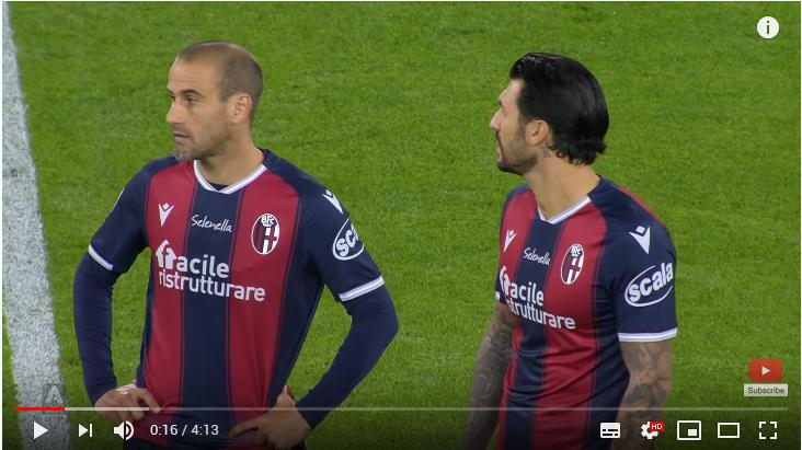คลิปไฮไลท์ฟุตบอลกัลโช่ เซเรีย อา อิตาลี โบโลญญ่า 4 - 1 ปาร์ม่า