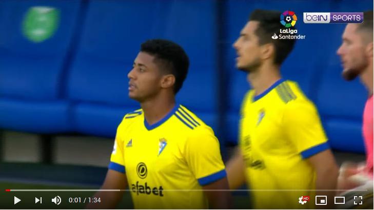 คลิปไฮไลท์ฟุตบอลลาลีกา สเปน คาดิส 1 - 1 กรานาดา ซีเอฟ