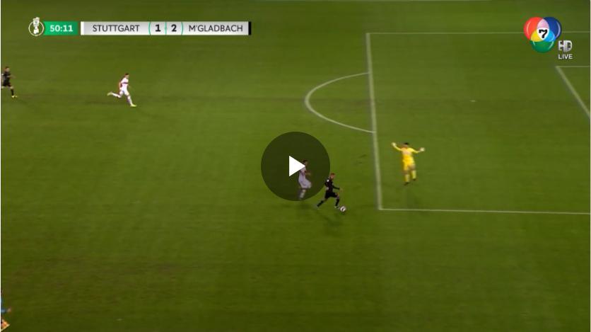 คลิปไฮไลท์ฟุตบอลเดเอฟเบโพคาล สตุ๊ตการ์ต 1 - 2 โบรุสเซีย มึนเช่นกลัดบัค