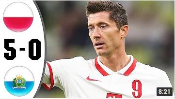 คลิปไฮไลท์ฟุตบอลโลก รอบคัดเลือก โซนยุโรป โปแลนด์ 5 - 0 ซานมารีโน