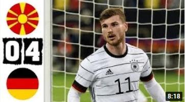 คลิปไฮไลท์ฟุตบอลโลก รอบคัดเลือก โซนยุโรป FYR มาซิโดเนีย 0 - 4 เยอรมนี