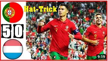 คลิปไฮไลท์ฟุตบอลโลก รอบคัดเลือก โซนยุโรป โปรตุเกส 5 - 0 ลักเซมเบิร์ก